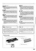 Einstellen der - Yamaha - Seite 5