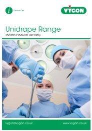 Unidrape Range (1.5MB) - Vygon (UK)