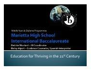 orientation presentation - Marietta High School
