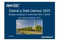 KADLUČKA ROMAN: Zelená a čistá Ostrava 2025 - TOP EXPO CZ