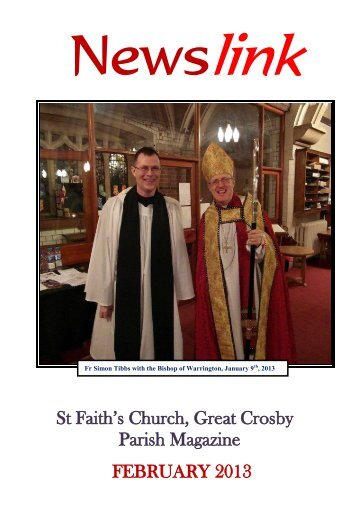 February 2013 - St Faith's home page
