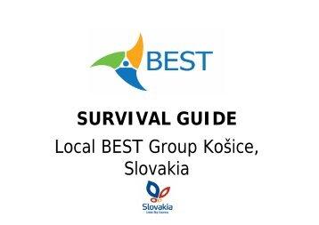 Download Survival Guide in PDF - BEST Košice - TUKE