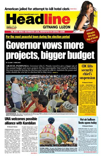 We Love You! - Headline Gitnang Luzon