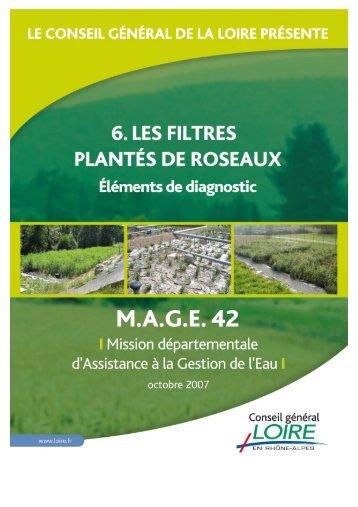 Les Filtres Plantés de Roseaux - Epnac