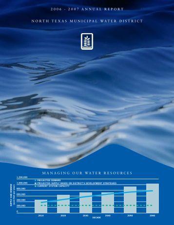 2006-2007 - North Texas Municipal Water District