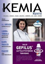 GEFILUS® - Kemia-lehti