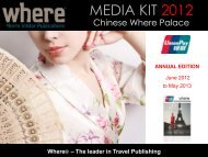 MEDIA KIT 2012 - Where Paris