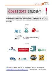 Výsledky Soutěže o nejlepší diplomovou práci roku ... - TOP EXPO CZ