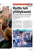 Voitto tuli yllätyksenä puhaltajamestarin perheelle - Kemia-lehti - Page 2