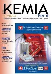 35 vuotta - Kemia-lehti