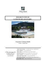 le cahier des charges du projet (version P.D.F ) - Site de la mairie de ...