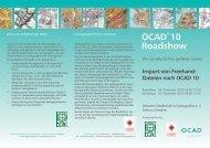 OCAD® 10 Roadshow - OCAD AG