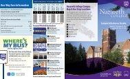 Nazareth Campus & Rochester Shuttle - Rgrta.com