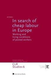 In search of cheap labour in Europe - UvA DARE