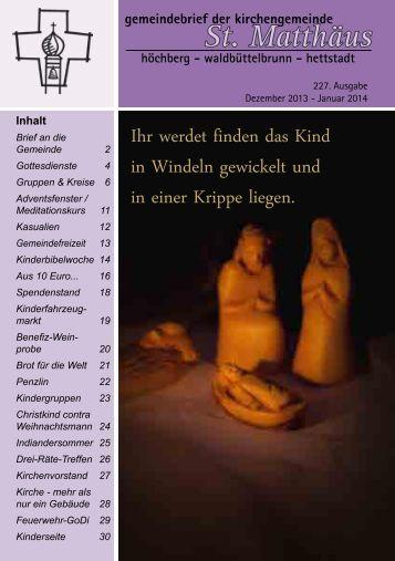 217. Ausgabe - Mai - April 2012 - Evangelisch-Lutherische ...