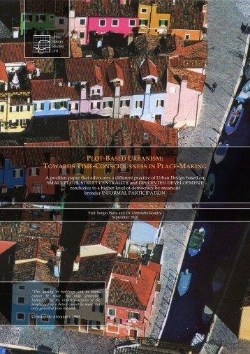 plot-based urbanism - UDSU