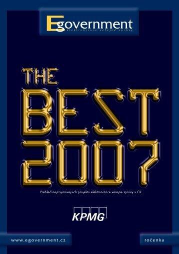 Publikace Egovernment The Best 2007