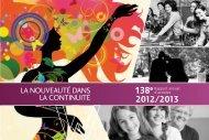 2012/2013 138e - YWCA Québec