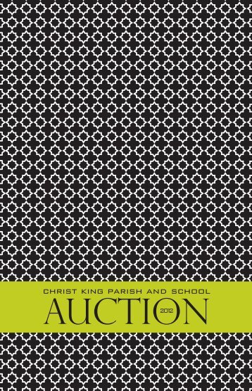 Download the auction program. - Christ King School