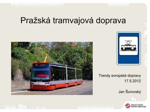 SUROVSKÝ JAN: Pražská tramvajová doprava - TOP EXPO CZ