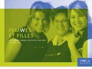 Rapport annuel d'activités 2008-2009 - YWCA Québec