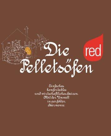 red - Pelletofen