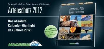 Artenschutz 2012 - Mondberge.com