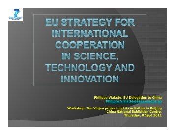Philippe Vialatte, EU Delegation to China Philippe ... - Viajeo.eu