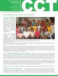 February 2011 - Center for Community Transformation