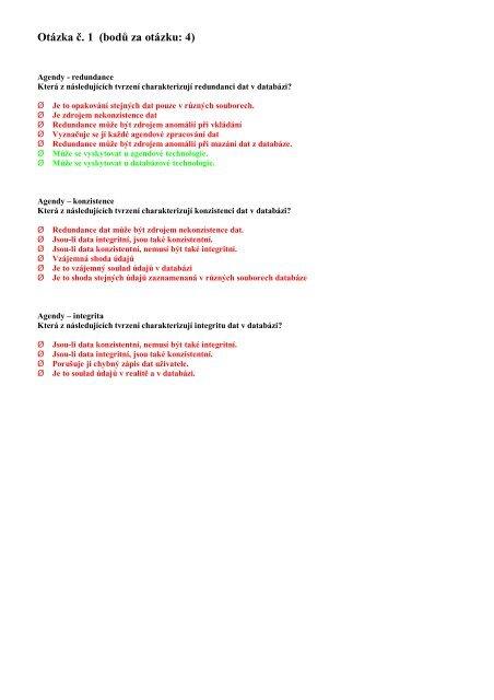 otázky (a odpovědi) k písemné zkoušce (PDF) - flashi