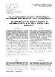 rola cieplnej energii odpadowej oraz energii wód geotermalnych w ...