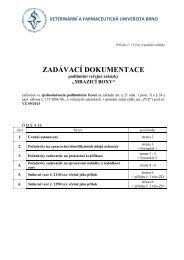 1-0-0 Zadávací dokumentace - MRAZICÍ BOXY.pdf - Veterinární a ...