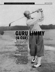 GURU LIMMY - Golfarch.cz