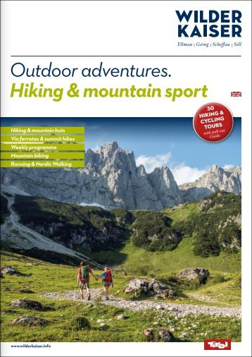 Outdoor adventures. Hiking & mountain sport