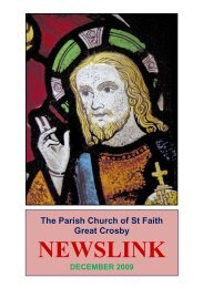 December 2009 - St Faith's home page