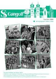 jahresprogramm 2004 2005 - St. Gangolf