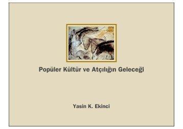 Popüler Kültür ve Atçılığın Geleceği - ARC ISTANBUL 2012