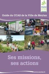 Guide du CCAS - Site de la mairie de Meylan
