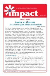The Cosmological Beliefs of the Indians PDF - Institute for Creation ...