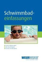 Katalog WESERWABEN ® Schwimmbadeinfassungen