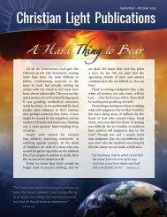 September-October 2013 - Christian Light Publications