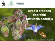 Uvod u procjenu dobrobiti zaštićenih područja - Dinaric Arc parks