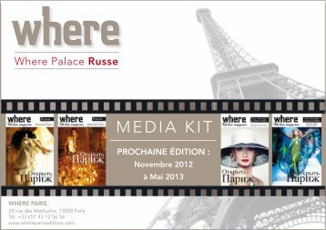 MEDIA KIT - Where Paris