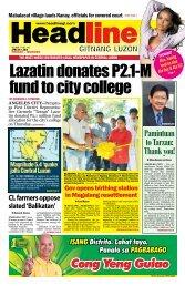Cong Yeng Guiao - Headline Gitnang Luzon