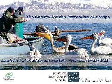 The Society for the Protection of Prespa - Dinaric Arc parks