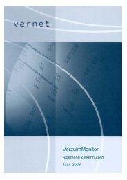 Verzuim Algemene Ziekenhuizen - jaarcijfers 2008 - StAZ