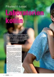 Laboratorion kotiin - Kemia-lehti