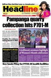 Livelihood, seminars highlight of Women's Month celebration
