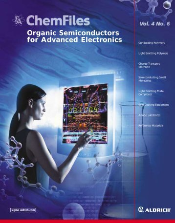 Organic Semiconductors for Advanced Electronics - TDA Research ...
