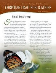 November-December 2012 - Christian Light Publications